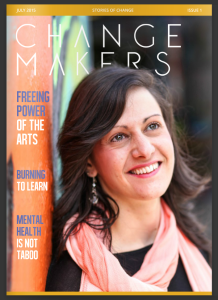 Change Makers Magazine Cover