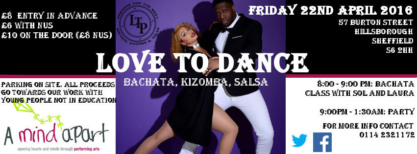 Love to Dance: Bachata, Kizomba, Salsa